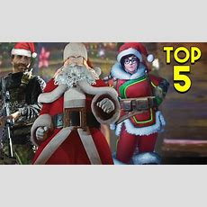 Top 5 Christmas Video Game Events