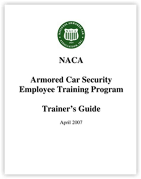 Employee Car Program by Safety And National Armored Car Association