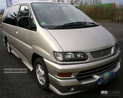 mitsubishi space gear pictures mitsubishi space gear motion technical details history