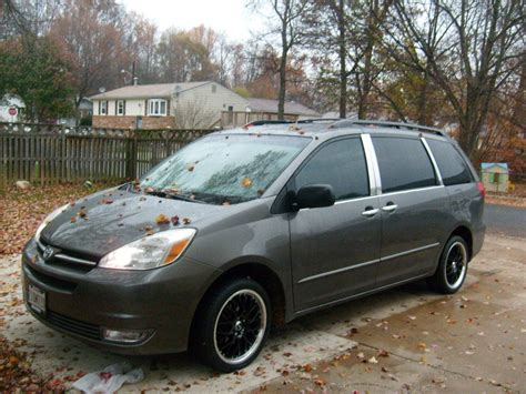 toyota sienna specs  modification info