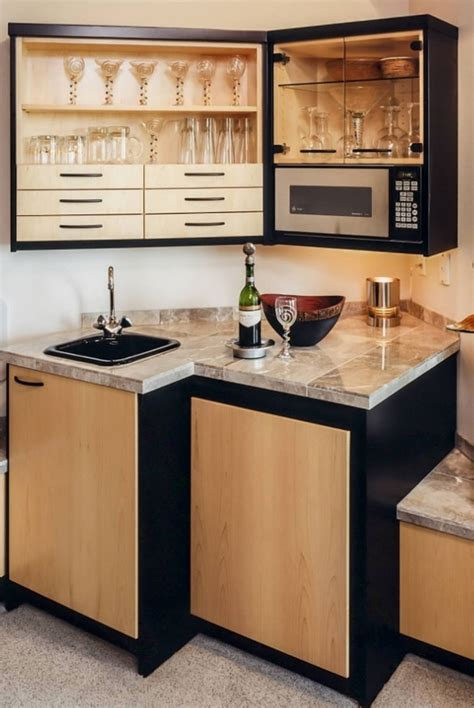 kitchen backsplash ideas 45 basement kitchenette ideas to help you entertain in