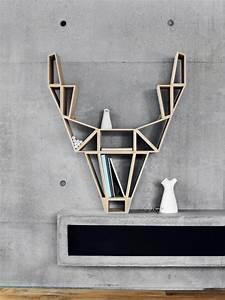 Tete De Cerf Bois : 5 cr ations design 100 bois joli place ~ Teatrodelosmanantiales.com Idées de Décoration