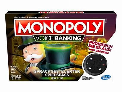 Voice Hasbro Gaming Monopoly Banking Penny