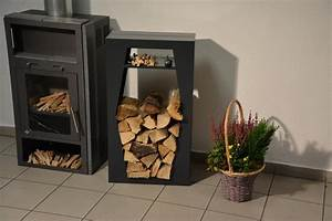 Kaminholzregal Für Wohnzimmer : kaminholzregal metall raute innenbereich mit anfeuerholzfach ~ Sanjose-hotels-ca.com Haus und Dekorationen