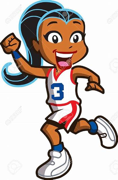 Basketball Player Clipart Athletes Athletic Vector Illustration