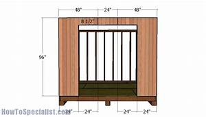 10x10 Shed Plans - Gambrel Shed