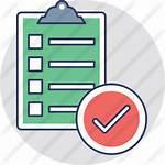 Icon Premium Icons Checkliste