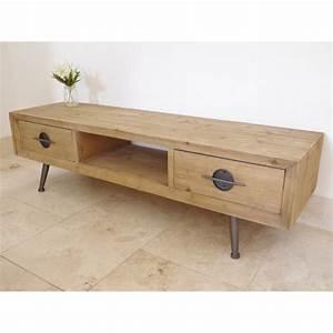 Meuble Style Scandinave : meuble tv en bois de style scandinave ~ Teatrodelosmanantiales.com Idées de Décoration