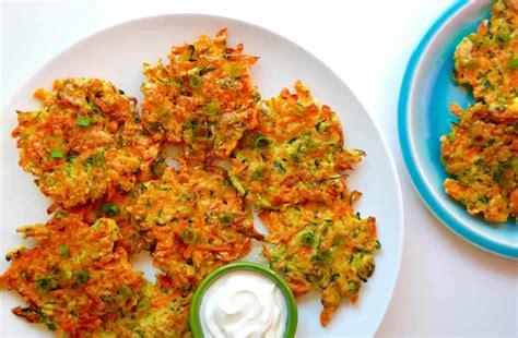 quick  crispy vegetable fritters   taste