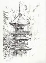 Monastery Visit sketch template