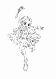 Ghoulia Yelps Ghouls Rule Coloring Page | Printables_For ...