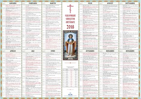 calendar ortodox ce data vom sarbatori