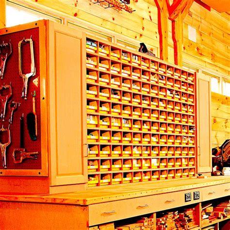 space saving hardware bin storage woodworking plan