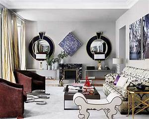Accent walls with frames interior design for Interior design wall of frames