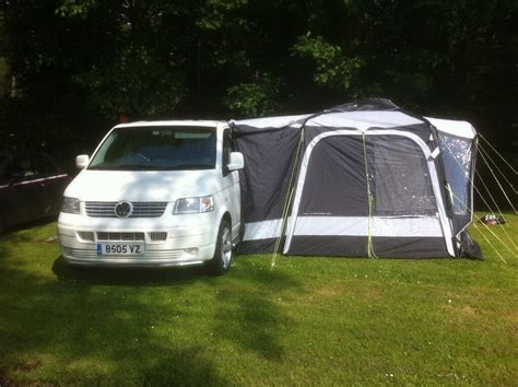 Vw Transporter T5 Camper Van And Drive Away Awning