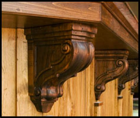 Wood Corbels For Granite Countertops by Decorative Wood Corbels And Brackets A Decorative
