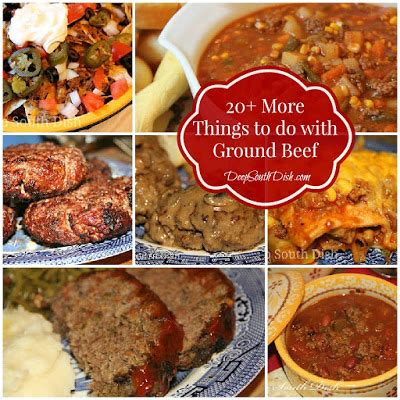 things to make with beef deep south dish more things to do with ground beef