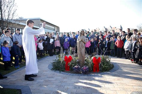 st agnes cathedral school unveils centennial prayer walk herald