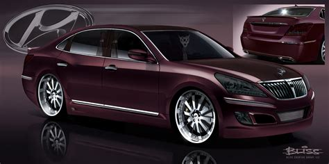 sema preview mummbles marketing  hyundai equus
