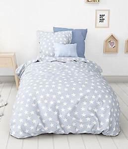 Biber Bettwäsche Sterne : traumhafte bettw sche aus biber sterne blau 135x200 von aminata kids bettw sche ~ Watch28wear.com Haus und Dekorationen