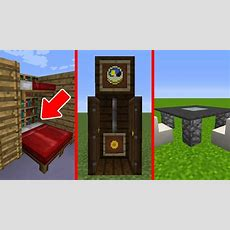 20 Interior Design Details In Minecraft  Youtube