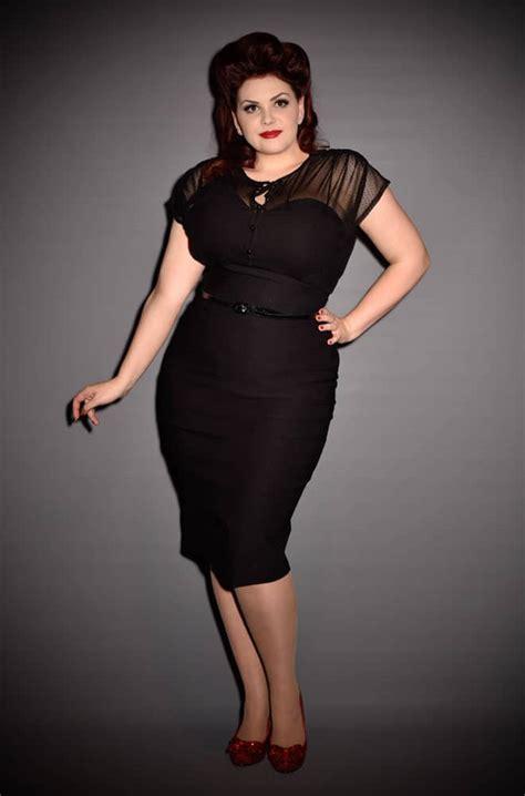 twilight  pinup  black film noir dress dress