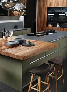 Arbeitsplatte Holz Küche : mintgr n in der k che die sch nsten bilder und ideen f r die neue trendfarbe k che holz ~ Sanjose-hotels-ca.com Haus und Dekorationen