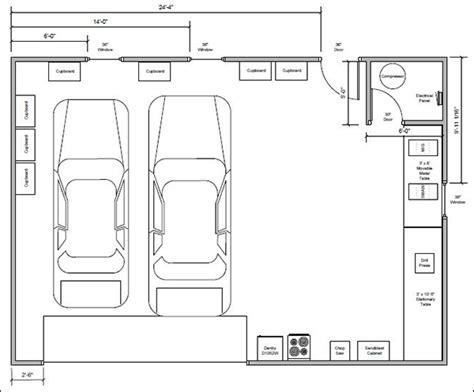 detached garage floor plans detached garage plans cad pro