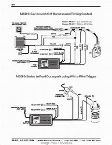 Msd  Wiring Diagram Lt1 Professional Hei Distributor