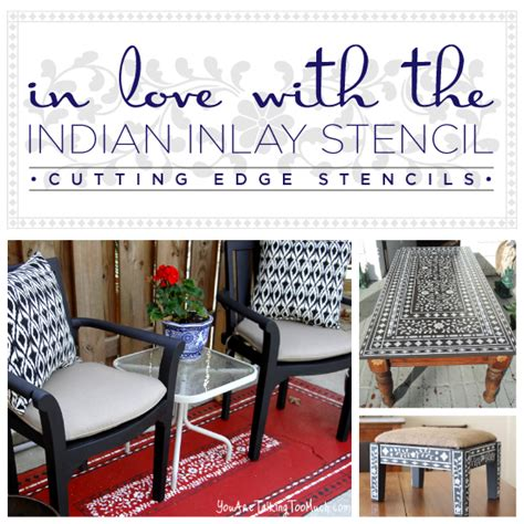 Diy Home Decor Blogs - are you in with the indian inlay stencil