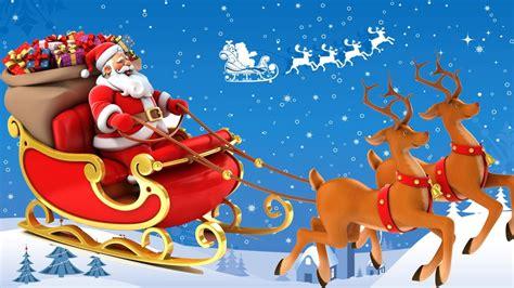 The History Of Santa Claus's Reindeer - How do Santa's