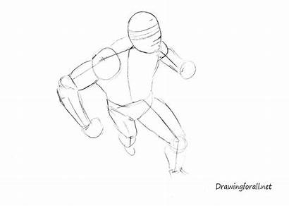Draw Cyclops Perspective Figure Dynamic Legs Contours