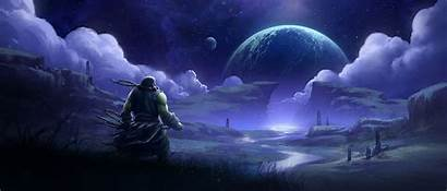Warcraft 4k Wow Desktop Wallpapers Thrall Backgrounds