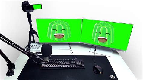 youtuber setup