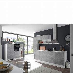 Moebel De : k che turn 3 wei beton k chenzeilen k chen m bel j hnichen center gmbh ~ Eleganceandgraceweddings.com Haus und Dekorationen