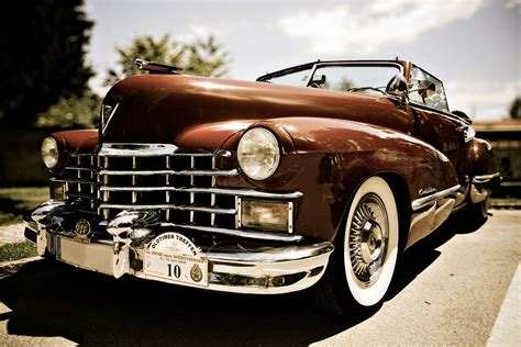 Oldtimer Vintage Car Wallpaper