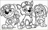 Coloring Pages Zumba Zuma Patrol Paw Printable Getcolorings sketch template