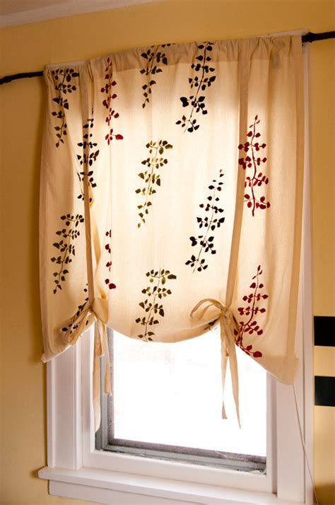 roll up curtains home made designer curtains pretty