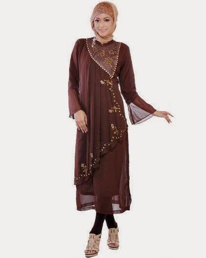 desain model baju muslim kebaya modern terbaik