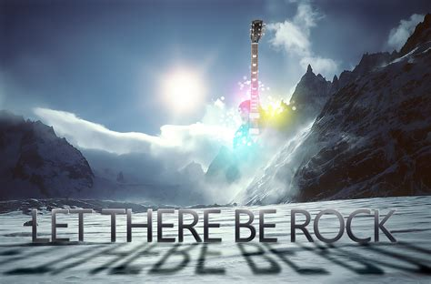 Let There Be Rock By Silverleaf91 On Deviantart