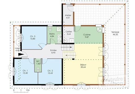 chambre suite parentale maison familiale 4 dé du plan de maison familiale 4