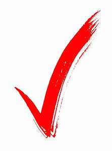 Powerpoint Red Check Mark - ClipArt Best