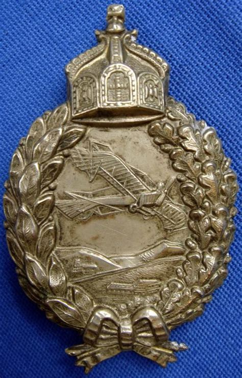 imperial german aviation badges page