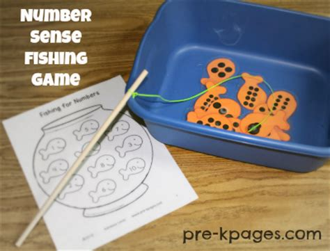 pre k math numbers and counting 958 | number fishing game