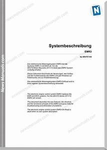 Deutz Emr 3 System Description Training Manuals