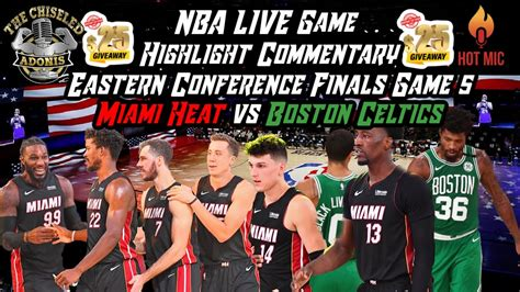 2020 NBA Eastern Conference Finals Game 5 | Heat vs ...
