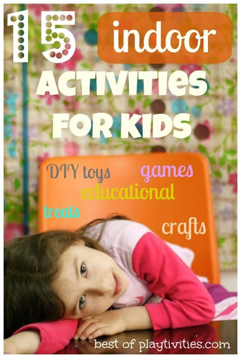 15 Creative Indoor Activities For Kids Without Spending