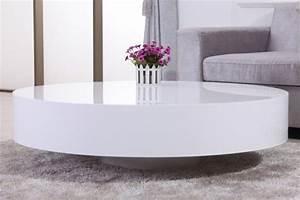 Table basse ronde laquée BELIUS chloe design