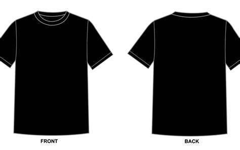 Blank Tshirt Template Printable