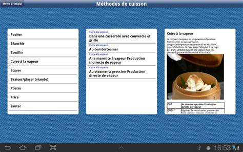 bases de la cuisine hd android apps on play